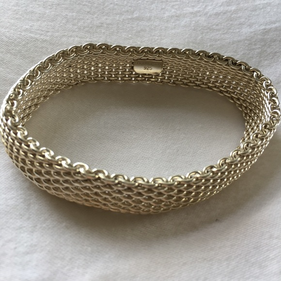 4d4305454 Tiffany & Co. Jewelry | Tiffany Co Somerset Mesh Bracelet | Poshmark